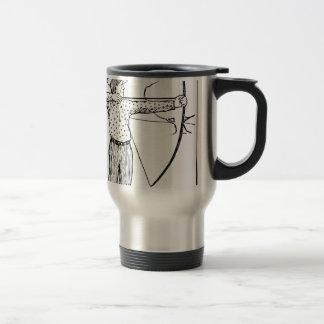 Boy Archer Illustration Travel Mug
