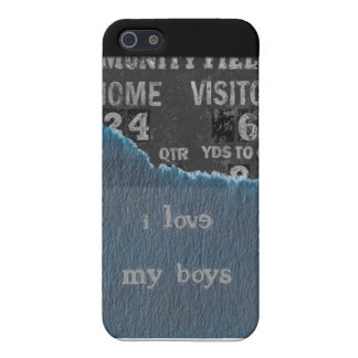 Boy-baby shower cover for iPhone 5/5S