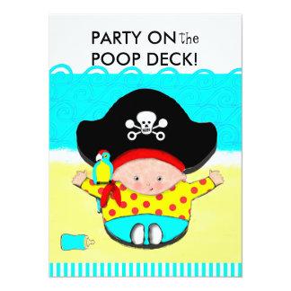 "BOY BABY SHOWER INVITATIONS 5.5"" X 7.5"" INVITATION CARD"