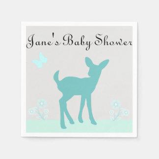 Boy Baby Shower Napkins Disposable Serviette