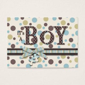 Boy Baby Shower Reminder Card
