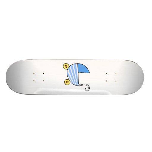 Boy Baby Stroller Skate Deck