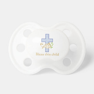 Boy Baptism | Personalized Pacifier