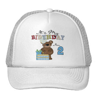 Boy Bear 2nd Birthday T-shirts and Gifts Cap