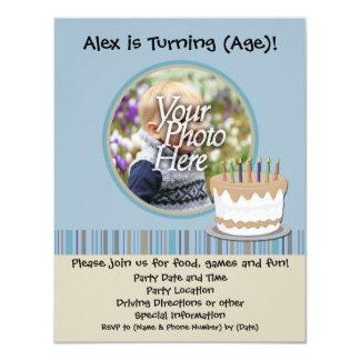 Boy Birthday Party Invitation