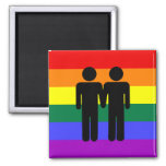 Boy + Boy Rainbow Magnet