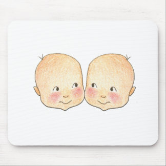 Boy Boy Twins Graphic Mouse Pad