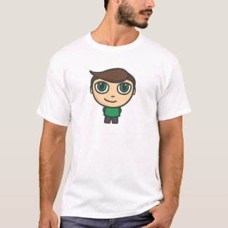 Boy Cartoon Character T-Shirt