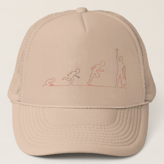 Boy Childhood Ambition and Chasing His Dreams Trucker Hat