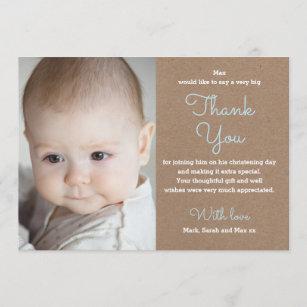 Baptism Thank You Cards Zazzle Com Au