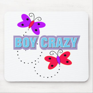 Boy Crazy Mouse Pad