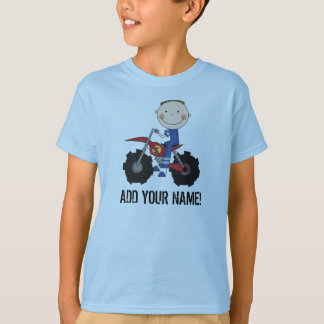 Boy Dirt Bike Rider Tshirt