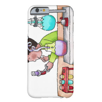 Boy Doing Science Experiment Barely There iPhone 6 Case