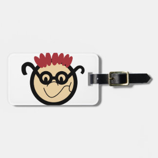 Boy Face Luggage Tag