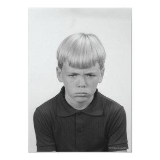 Boy Facial Expressions Invite