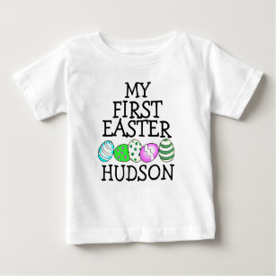 6887f797 Boy First Easter Shirt My First Easter Bunny eggs
