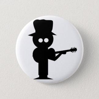 Boy Folk Singer 6 Cm Round Badge