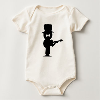 Boy Folk Singer Baby Bodysuit