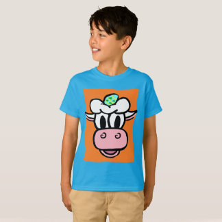 BOY/GIRL EASTER -- Ice Cream Cow HOLIDAY Series T-Shirt