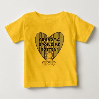 Boy Grandma Spoils Me Tshirts and Gifts