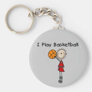 Boy I Play Basketball Tshirts and Gifts Keychains