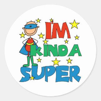 Boy I'm Kinda Super Sticker