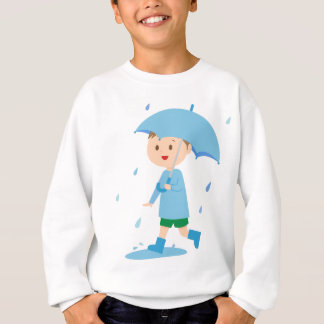Boy in the Rain Sweatshirt