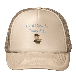 Boy Kindergarten Graduate T-shirts and Gifts Mesh Hats