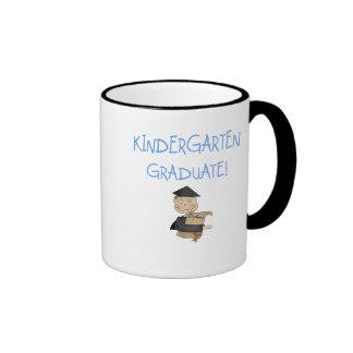 Boy Kindergarten Graduate T-shirts and Gifts Mug