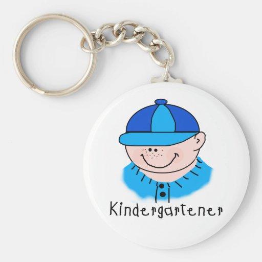 Boy Kindergartener Keychains