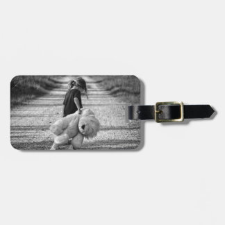boy luggage tag