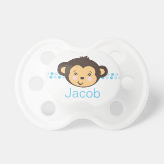 Boy Monkey | Personalized Pacifier