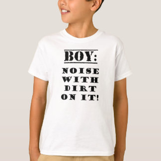 Boy - Noise with Dirt on It T-Shirt
