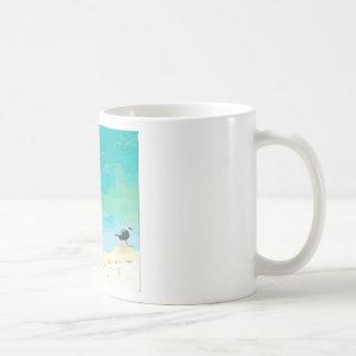 Boy on Beach Coffee Mug