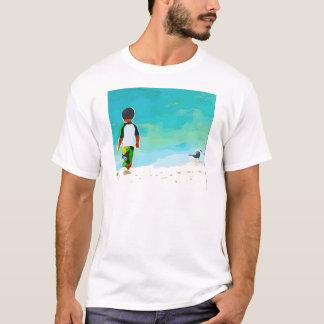 Boy on Beach T-Shirt