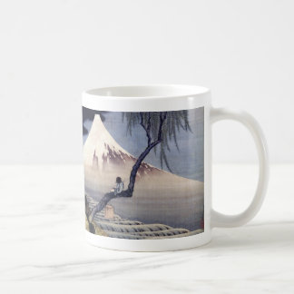 Boy on Mount Fuji, Hokusai Coffee Mug