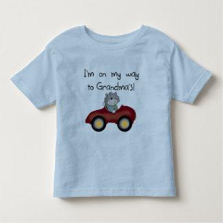 Boy On Way to Grandmas Tshirts and Gifts