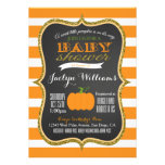 Boy or Girl Fall Pumpkin Baby Shower Invitation