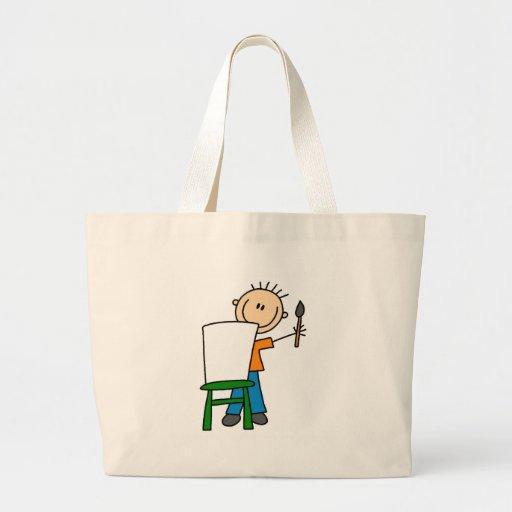 Boy Painting Bag