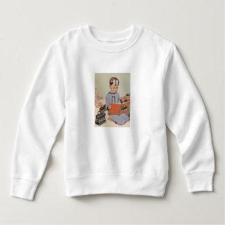 Boy playing Doctor  - Retro Sweatshirt