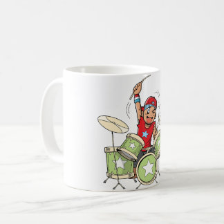 Boy Playing Drums Mug