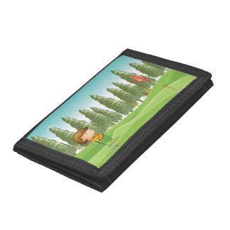 Boy Playing Golf Wallet