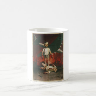Boy Propaganda Poster Coffee Mug