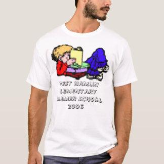 boy_read2, WEST HAMLIN ELEMENTARYSUMMER SCHOOL ... T-Shirt