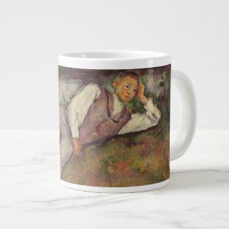 Boy Resting Large Coffee Mug