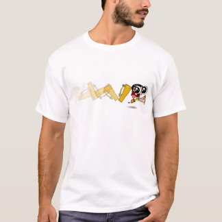 Boy runs of the Avaiana de Pau T-Shirt