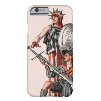 Boy Scout and Liberty Barely There iPhone 6 Case