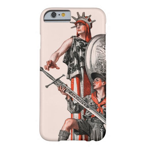 Boy Scout and Liberty iPhone 6 Case