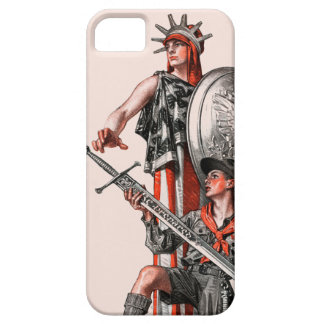 Boy Scout and Liberty iPhone 5 Cover