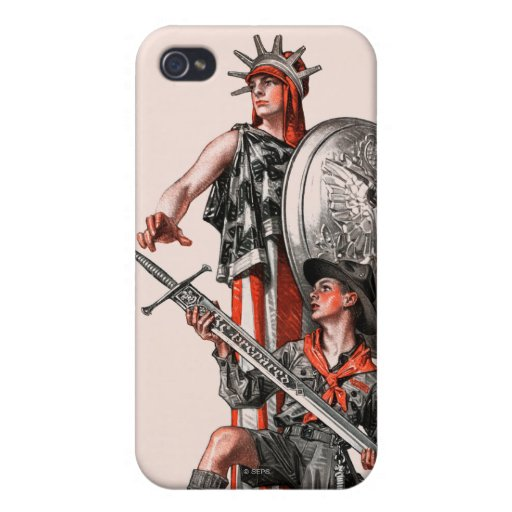 Boy Scout and Liberty Cases For iPhone 4